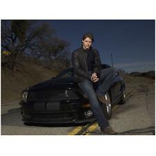 Knight Rider Justin Bruening as Mike Traceur Sitting on KITT 8 x 10 inch photo