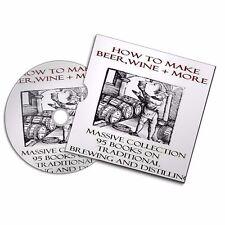 HOW TO  BREWING AND DISTILLING  Distiller Make Alcohol Moonshine 95 book VINTAGE