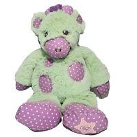 "American Girl Bitty Baby Green And Purple Plush Giraffe  12"""