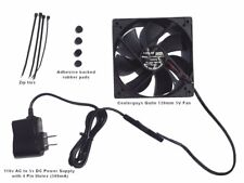 Coolerguys Quiet 120mm AC Powered Receiver/Component Cooling Fan *FREE SHIPPING*
