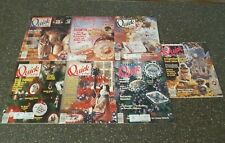 Lot of 7 Quick & Easy Magazines 1990 1991 Cross Stitch