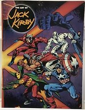 The Art Of Jack Kirby Over-sized 1st Print Magazine FN+ 1992 Blue Rose Press