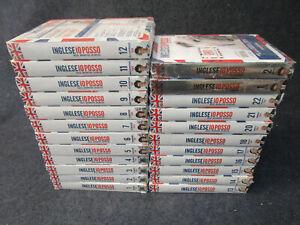 INGLESE IO POSSO CORSO DI INGESE 22 DVD CD BOOK + 2 BUSINESS-MANCA 19-O16-FR