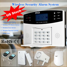 433MHz Wireless LCD GSM SMS Burglar Alarm System Security Kit Phone App Control