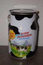Collectible 2nd Edition Chupa Chups Ice Cream Lollipops Milk Can Tin