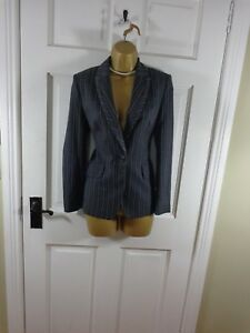 Marks & Spencer Grey Lined Tailored Jacket, UK 8 Petite,New Without Tags REDUCED