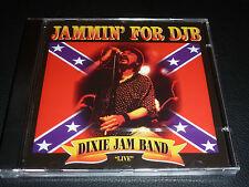 CD.DIXIE JAM BAND.JAMMIN' FOR DJB.LIVE.LAST LIVE DANNY JOE BROWN.MOLLY HATCHETT