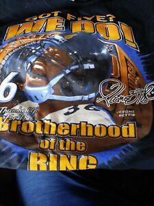 "JEROME BETTIS Pittsburgh Steelers ""GOT FIVE? WE DO"" XXL  T-Shirt BROTHERHOOD"