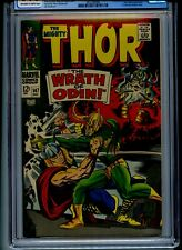Thor #147 CGC 9.0 OWTW Pages Loki Battle Cover