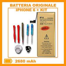 Batteria maggiorata potenziata per iPhone 6 2850 Mah Gold + KIT - ZERO CICLI