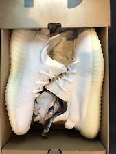 Yeezy Boost 350 Cream white/triple White, Size 9 1/2 Men's