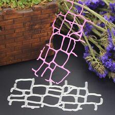 Grid Net Cutting Dies Stencils DIY Scrapbook Album Embossing Card Paper Craft