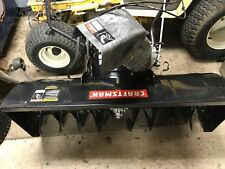 "CRAFTSMAN 42""  TWO STAGE TRACTOR SNOW THROWER/BLOWER ATTACHMENT."
