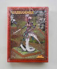 Señor del Caos de Warhammer de fantasía de metal en daemonic montaje de Slaanesh Nuevo Y En Caja