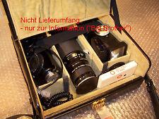 VIVITAR Blitz Foto Tasche Köcher Koffer SLR / Camera CASE mit Riemen Vintage NEU