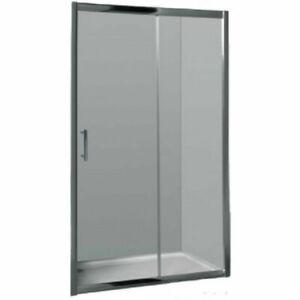 900-1750mm Shower Screen Wall to Wall Sliding Door Framed Chrome