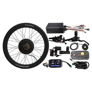 """EU duty free 48V1500W 20""""-29"""" Rear wheel conversion kit sabvoto Controller ebike"""