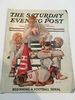 1939 NOVEMBER 18 THE SATURDAY EVENING POST MAGAZINE - ILLUSTRATED COVER ONLY