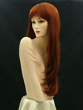 "Super Long Wigs Show Girl     Fox  Red   31""     M11"