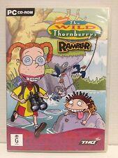 THE WILD THORNBERRYS RAMBLER ~ PC CD - ROM GAME ~ **FREE POST**