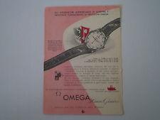 advertising Pubblicità 1956 OROLOGIO OMEGA 30 MM GENEVE