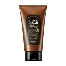 SKINFOOD Black Sugar Perfect Scrub Foam 180g - Korea Cosmetic