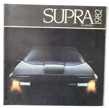 TOYOTA SUPRA 1982 dealer brochure - French - Canada - HS2003000918