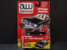 Auto World Plymouth Barracuda 1965 Black 64112A 1/64
