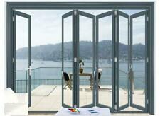 "Eris Bi-fold Doors - Folding patio Door - Size 144"" x 96"""