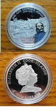 SILVER GENERAL GEORGE G MEADE COOK ISLANDS 2009 $5.00