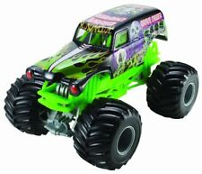 Monster Jam Grave Digger Hot Wheels Die-Cast Vehicle 1:24 Scale Black and Green