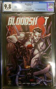 Bloodshot #1 Corona Variant Spider-Man McFarlane Homage Swipe CGC 9.8