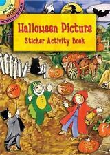 Sticker Activity Book: Acid-free, HALLOWEEN PICTURE, 30 stickers, outdoor scene