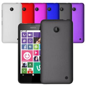 For Nokia Lumia 635 630 Slim Hybrid  Hard Case Clip On Cover