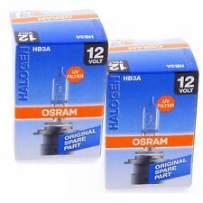 2x HB3A OSRAM Original Line OEM 9005XS Halogenlampe Autolampe Set