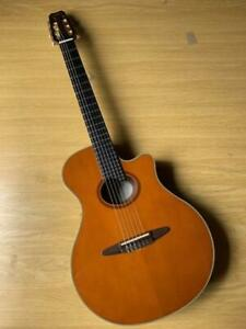 Vintage Yamaha Elegat APX 10N Acoustic Guitar 12F With Special Soft Case