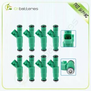 8 Fuel Injectors For Buick Chevy Oldsmobile Pontiac 3.5L 3.9L 5.3L 0280155789