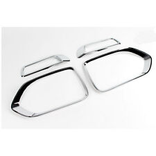 Front Chrome Basics Fog Lamp Lens Cover Molding Trim For Kia Sorento 2011-2013