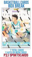 Panini 2020/21 Origins Basketball NBA CARD BOX BREAK 1 RANDOM TEAM - Break 4916