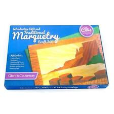 Giants Causeway Traditional Marquetry Craft Kit with Free DVD 260x188mm