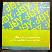 The Christ Unity Temple Choir Joy, Joy, Joy, LP VG Private Chicago Gospel Soul