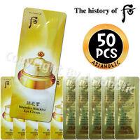 The history of Whoo Qi & Jin Eye Cream 1ml x 50pcs (50ml) Sample Newist version