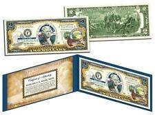ALASKA Statehood $2 Two-Dollar Colorized US Bill AK State *Genuine Legal Tender*