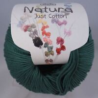 DMC Natura Just Cotton Crochet Knitting Yarn - 50g - Green Valley (N14)
