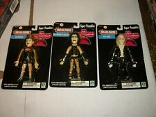 Movie Headliners ROCKY HORROR PICTURE SHOW Super-Poseables Figure Set of 3 NEW