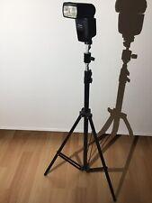 Yongnuo YN 560-II Digital Speedlite Blitz Blitzgerät Aufsteckblitz +Stativ & Zub