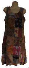 Vestidos de mujer sin marca color principal multicolor 100% algodón