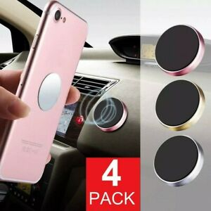 Magnetic Car Dashboard Mount Holder For Cell Phone Samsung Galaxy iPhone 4-Pack