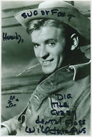 Will Hutchins - Sugarfoot - hand signed Autograph Autogramm