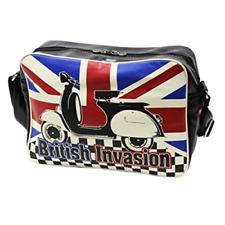 British Invasion Scooter bag Vespa shoulder messenger tote retro union jack NEW